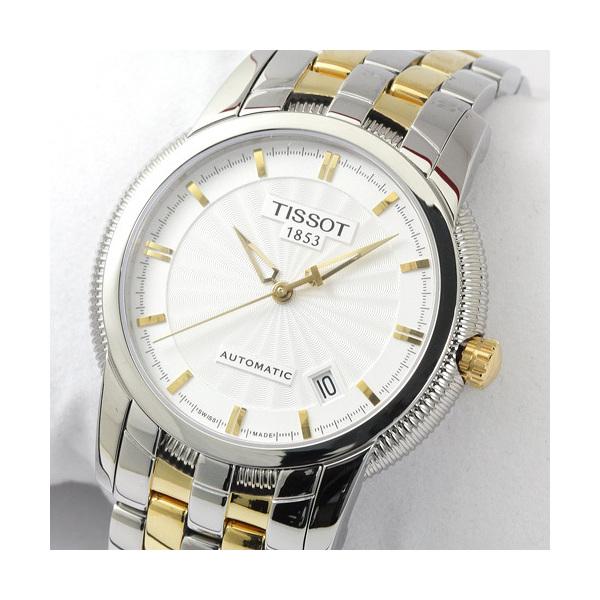 16bece7ef3 ... ティソ TISSOT T-クラシック バラード GPコンビ メンズ T97.2.483.31 シルバー 時計 ...