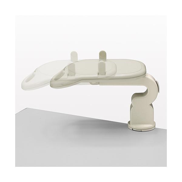 テレフォンアーム 360°回転 クランプ固定 テレフォンスタンド 電話台 100-TEL001