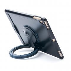 iPad スタンドケース セキュリティスロット付き ブラック 200-SL043BK