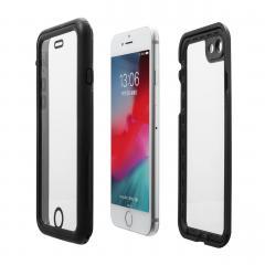 iPhone XS / X 防水 耐衝撃 ハードケース IP68 ワイヤレス充電対応 ストラップ付き 200-SPC027WP