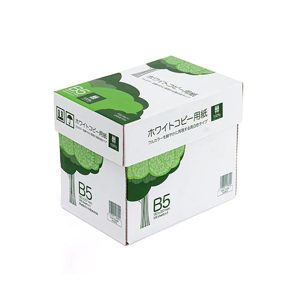 コピー用紙 B5 500枚×5冊 2500枚 300-CP1B5