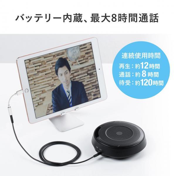 WEB会議 スピーカーフォン 400-BTMSP1