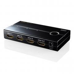 HDMIセレクター 3入力 1出力 4K/30Hz対応 400-SW019