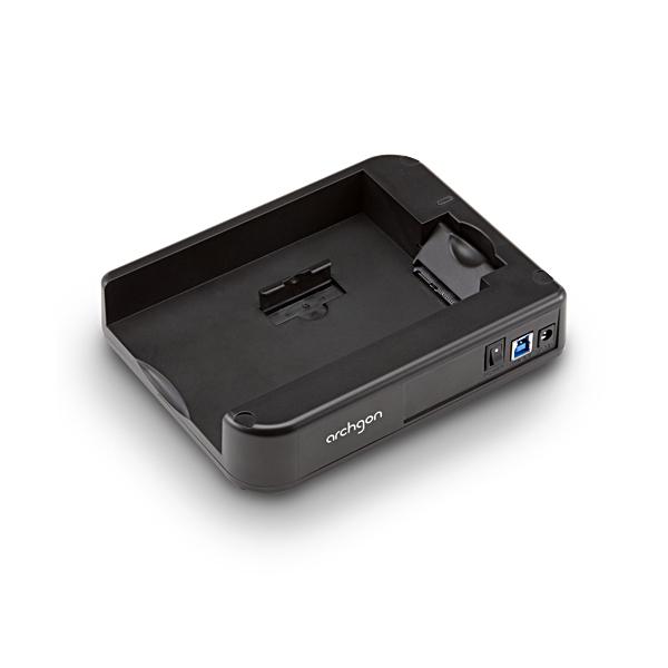 USB3.0接続 外付けハードディスクケース スタック構造 2.5&3.5インチ SATA HDD対応 800-TK018N