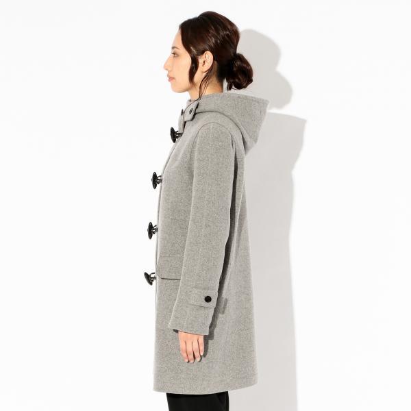 〈Flat-Seam Coat〉ダッフルコート/ネイビー/38