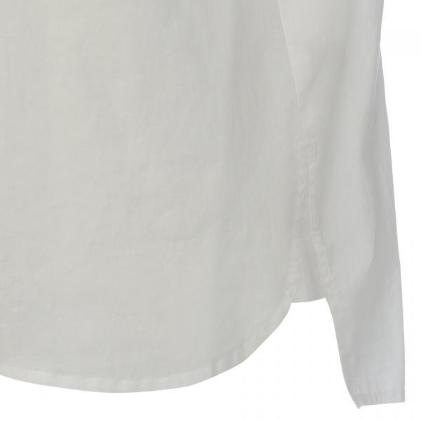 【ウォッシャブル】コットンローンシャツ/オフホワイト/42