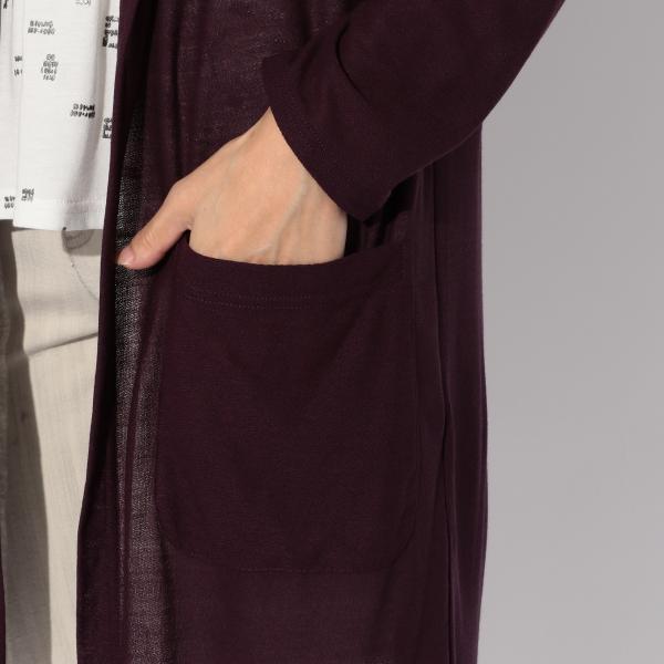 【ウォッシャブル】レーヨン梨地ジャージフーデッドパーカー/グレー/42