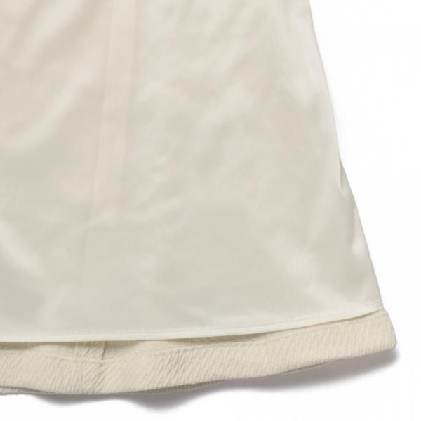 ウールツイルスカート/オフホワイト/38