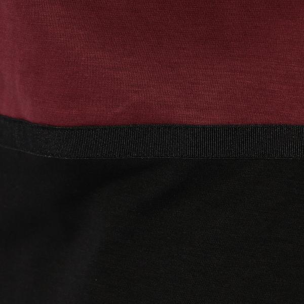 ハートモチーフTシャツ/グレー/40