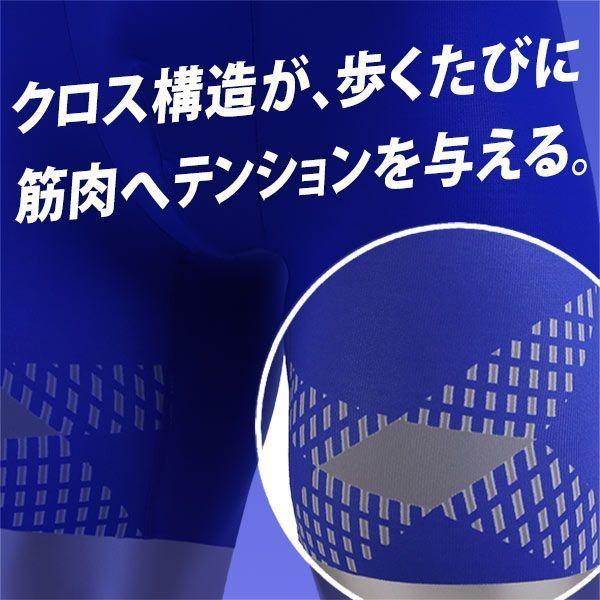 25%OFF【メール便(10)】 (ワコール)Wacoal (ブロス)BROS GX1700 着るエクササイズ CROSSWALKER クロスウォーカー LL メンズ