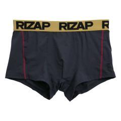 【メール便(8)】 (ライザップ)RIZAP MENS 吸汗速乾 TBT 前閉じ ウエストビッグロゴ ボクサーパンツ メンズ