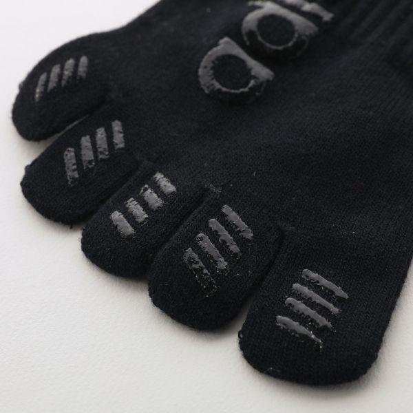 【メール便(18)】 (アディダス)adidas ショート丈 ソックス スポーツ 五本指 段階式 着圧 レディース