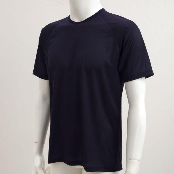 586a7f456b0c3d ... 【メール便(10)】 ゲンバ男子 半袖 Tシャツ インナー メンズ クルーネック ...