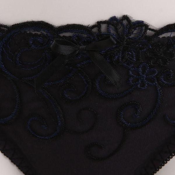 (エクラ)ECLAT オータムフラワー刺繍 3/4カップ ブラジャー ショーツ セット BCD アンダー大きいサイズ レディース
