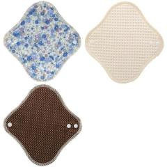 【メール便(3)】 (すぃーと・こっとん)sweet cotton 布ナプキン ネルライナー 3枚セット 綿100% パンティライナー サニタリー レディース