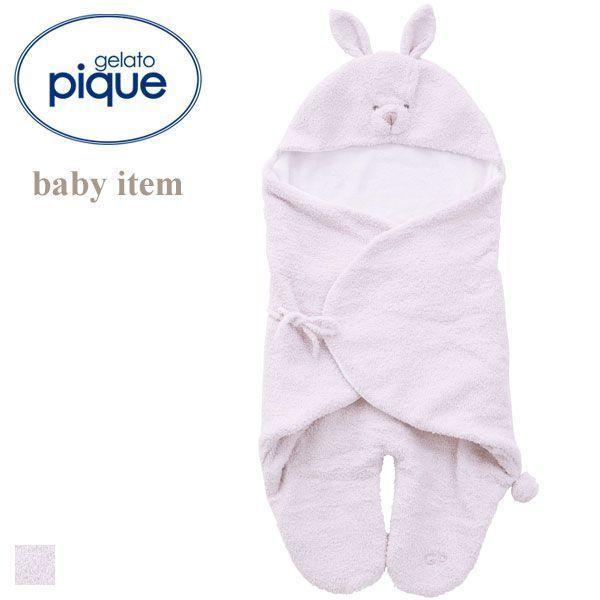 (ジェラートピケ キッズアンドベイビー)gelato pique Kids&Baby 【BABY】'ベビモコ'ウサギ baby オクルミ ジェラピケ