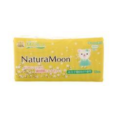 (ナチュラムーン)Natura Moon 生理用ナプキン 多い日の昼用(羽なし) 18個入 レディース