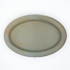 【Tポイント10%還元】ANCIENT POTTERY (エンシェントポタリー/エイシェントポタリー) OVAL PLATE 25.5cm オーバルプレート グレー