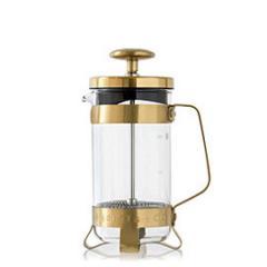 【Tポイント10倍】BARISTA&CO(バリスタアンドコー) 3 Cup Plunge Pot (3カップ プランジポット)Midnight Gold