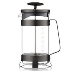 【Tポイント10倍】BARISTA&CO(バリスタアンドコー) 8 Cup Plunge Pot (8カップ プランジポット)Gunmetal