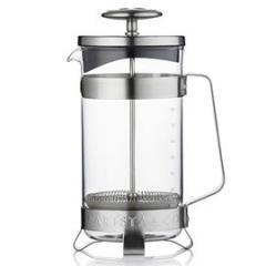 【Tポイント10倍】BARISTA&CO(バリスタアンドコー) 8 Cup Plunge Pot (8カップ プランジポット)Electric Steel
