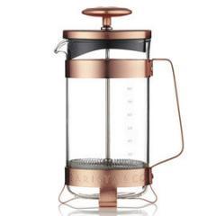 【Tポイント10倍】BARISTA&CO(バリスタアンドコー) 8 Cup Plunge Pot (8カップ プランジポット)Electric Copper