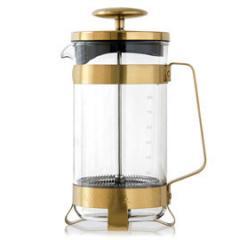 【Tポイント10倍】BARISTA&CO(バリスタアンドコー) 8 Cup Plunge Pot (8カップ プランジポット)Midnight Gold