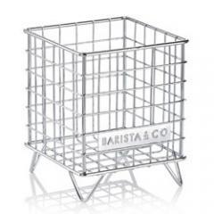 【Tポイント10倍】BARISTA&CO(バリスタアンドコー) Pod Cage(ポッドケージ)Electric Steel