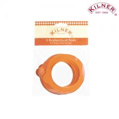 【Tポイント10%還元】KILNER(キルナー) Standard Rub Seals 6pieces クリップトップボトル用交換パッキン