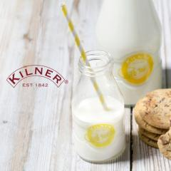 【Tポイント10倍】KILNER(キルナー) MILK BOTTLE(ミルクボトル)189ml
