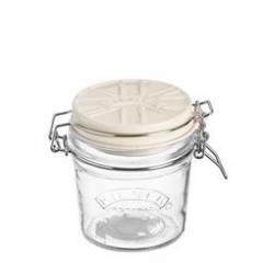【Tポイント10倍】KILNER(キルナー) CERAMIC LID CLIPTOP JAR(セラミックリッドクリップトップジャー)0.35L ホワイト