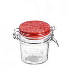 【Tポイント10倍】KILNER(キルナー) CERAMIC LID CLIPTOP JAR(セラミックリッドクリップトップジャー)0.35L レッド