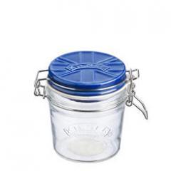 【Tポイント10倍】KILNER(キルナー) CERAMIC LID CLIPTOP JAR(セラミックリッドクリップトップジャー)0.35L ブルー