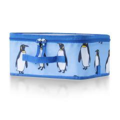 【Tポイント10倍】reisenthel(ライゼンタール)TRAVEL STORAGE CASE S(トラベルストレージケース Sサイズ) ペンギンパステルブルー