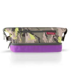 【アウトレット】【Tポイント10%還元】reisenthel(ライゼンタール)COSMETIC BAG S (コスメティックバッグ S)カモフラージュ&バイオレット