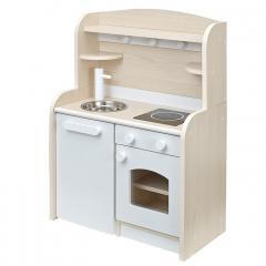 組立品 ままごとキッチン おままごとキッチン ママごと 知育玩具 おもちゃ Mini Cook4(ミニクック4) ホワイト
