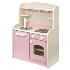 組立品 ままごとキッチン おままごとキッチン ママごと 知育玩具 おもちゃ Mini Cook4(ミニクック4) ピンク