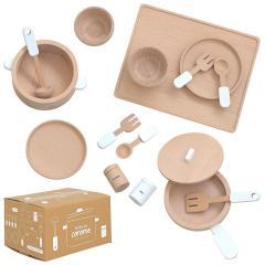 音が鳴る仕掛け ままごとグッズ おままごとグッズ ままごとセット おままごとセット 木製 調理器具 おもちゃ 家事 子ども 子供 キッチンツール coromo(コロモ) 充実の16点セット