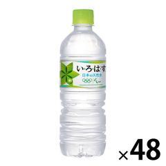 〔送料無料〕 コカ・コーラ いろはす I LOHAS 555ml ペットボトル 48本 (24本入×2 まとめ買い)