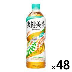 〔送料無料〕 コカ・コーラ 爽健美茶 600ml ペットボトル 24本入×2 まとめ買い
