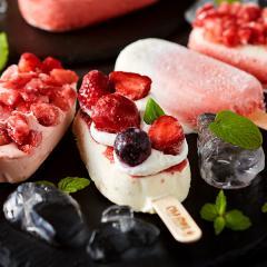 内祝い アイス コールド・ストーン・クリーマリー ストロベリーアソートアイスクリーム(10個)(メーカー直送)(お届け:~8/8頃) / 用途限定*d-M-19-1001-015*