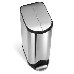 送料無料 simplehuman シンプルヒューマン ペダル式 ゴミ箱 バタフライカン(メーカー直送)(正規品)/30L/CW1824/ダストボックス*d-M-CW1824*