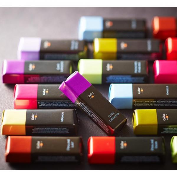 送料無料 ガレー チョコレート ミニバー 24個入り(のし・包装・メッセージカード利用不可)(並行輸入品)/ (ホワイトデーギフト)C-19 【NC】*z-Y-galler-bar24*