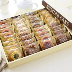 スイーツ ギフト ロシアケーキ(32個)(メーカー包装済)(のしは外のしです)/ 中山製菓 個包装 お菓子 詰合せ ギフト 結婚内祝い  出産内祝い お返し お礼*z-Y-SRC-20-ZM*
