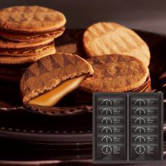10%OFFクーポン対象商品 母の日 プレゼント 内祝い お返し ギフト お菓子 ザ・スウィーツ キャラメルサンドクッキー(12個)*z-Y-SCS15-ZM* クーポンコード:YE8B3K7