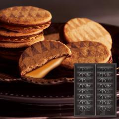10%OFFクーポン対象商品 内祝い お返し ギフト お菓子 送料無料 ザ・スウィーツ キャラメルサンドクッキー(16個)*z-M-SCS20-ZM* クーポンコード:YE8B3K7