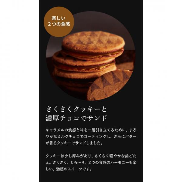 内祝い お返し ギフト お菓子 送料無料 ザ・スウィーツ キャラメルサンドクッキー(24個)*z-M-SCS30-ZM*