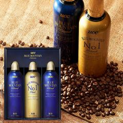 暑中見舞い 残暑見舞い ギフト コーヒー アイスコーヒー  送料無料 UCC ブルーマウンテンセレクションギフト(3本)(MBM-30) / 御中元 用途限定*d-M-19-1058-042*