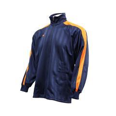 PUMA(プーマ)メンズスポーツウェア ウォームアップジャケット トレーニングジャケット 86222075 メンズ ネイビー/オレンジ