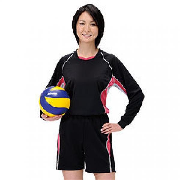 (セール)SPORTS AUTHORITY(スポーツオーソリティ)バレーボール ゲームユニフォーム 長袖ゲームシャツ S09-52-033 NV/SAX/SL NAVY